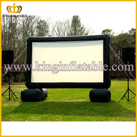 Hot sale cheap inflatable movie screen / projector screen/ cinema screen