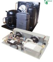 Open type condensing unit for supermarket showcase