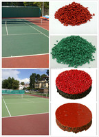 Colored EPDM Granules/Rubber Outdoor Playground/Tennis Court-FN-A-15061904