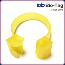 100% Quality Confirmed ICAR Authorized LF Low Frequency 134.2khz chicken foot ring