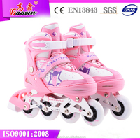 GX-1507 dc proskate 4 wheel retractable roller skate shoes