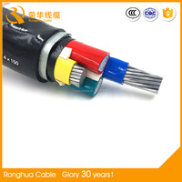 Tinned copper wire / Marine power cable 3 wire 1/0 awg
