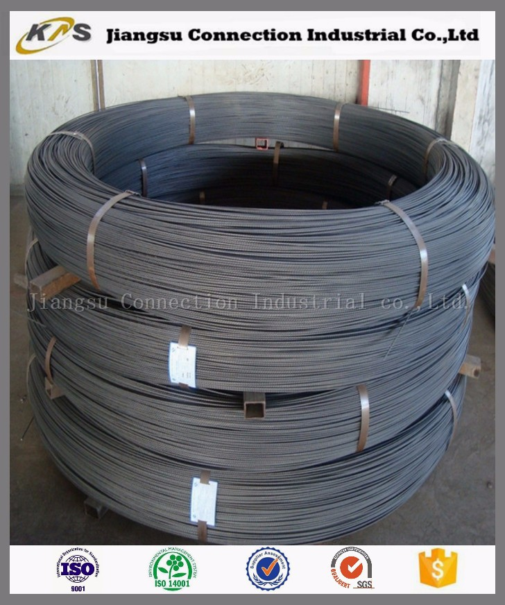 low relaxation 45Si2Cr Steel PC steel Wire Round Bar for construction