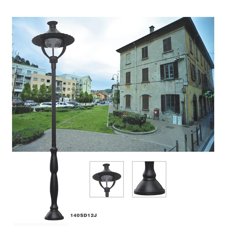 Garden Lamp Poles, High Pole Garden Lighting, Aluminum Fence Post Light