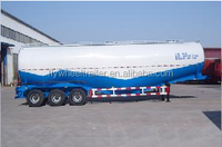 dry powder bulk cement meterial tanker semi truck trailer for sale