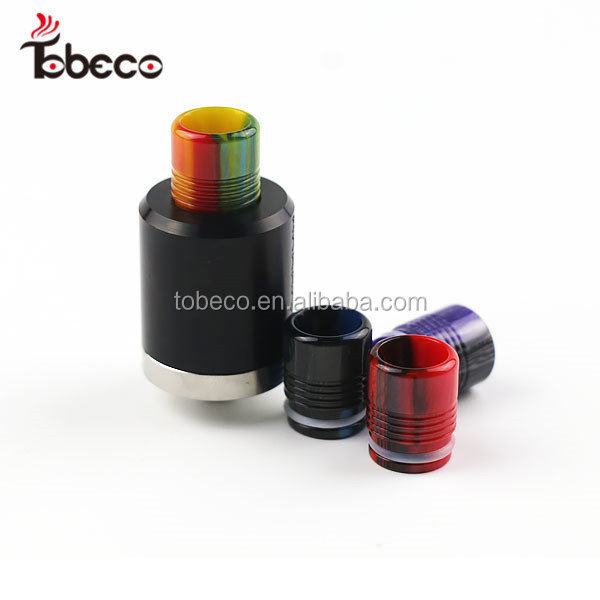 Hot selling high quality Epoxy resin drip tips tfv8 best price 510 mini super tank epoxy resin drip tips