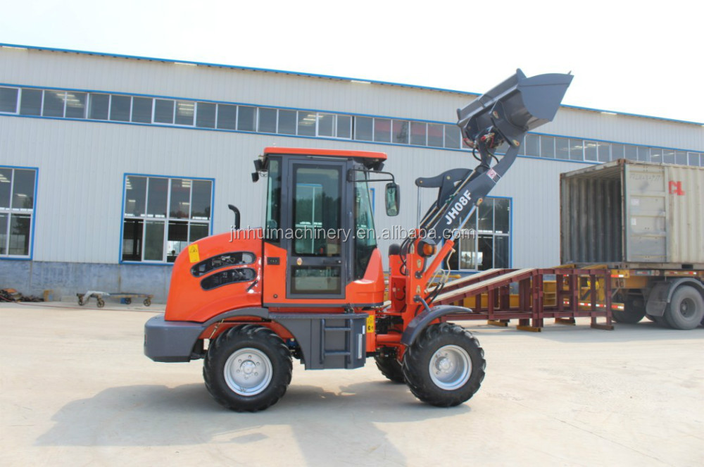 ZL08F small wheel loader with 0.4cbm bucket