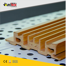 ECO acoustic wooden decorative panel board for churchs,home theaters,ect.ceiling and wall sound deffusion