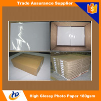A3 A4 4R 4x6 5x7 10x15 13x18 180gsm Inkjet Glossy Photo Paper On Promotion