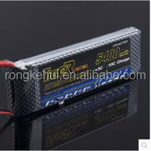TIGER 7.4V RC battery 5400mah 35C Lipo Battery new in stock