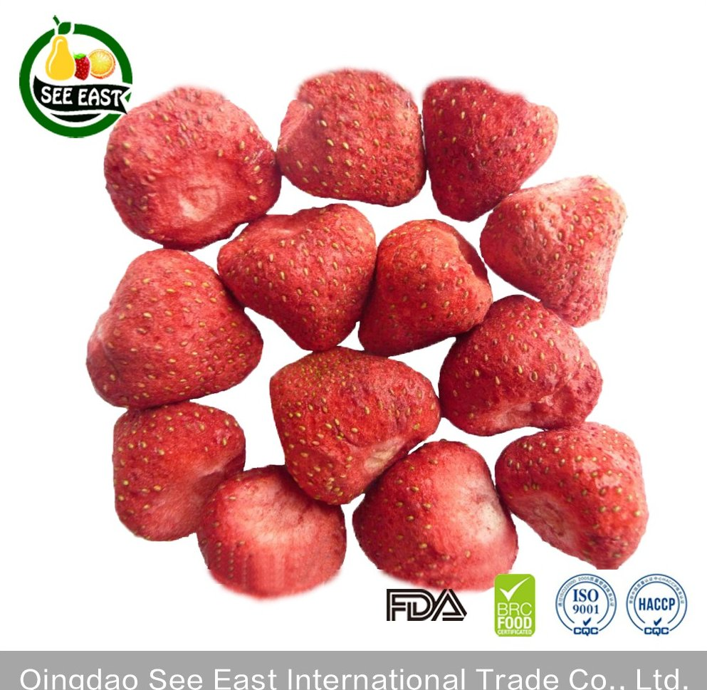 hot sale snack fd fruits freeze dried strawberry dried strawberry