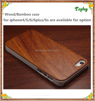 Wholesale Hot Selling Rose Wood Mobile Phone Case For Iphone 6s