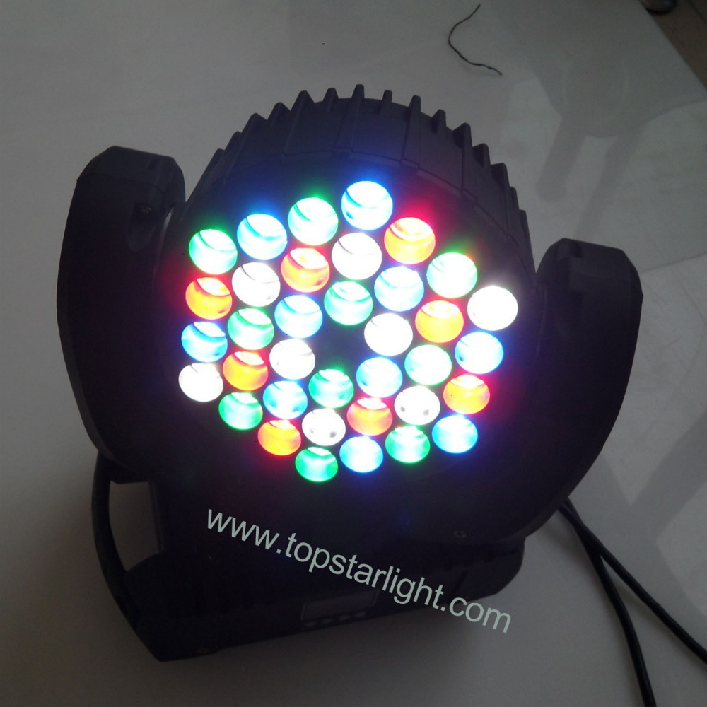 2014 high quality 36*<strong>3w</strong> rgbw seeyo stage lighting moving head