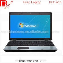 Clean Company used laptop 15.6 inch intel Core i5 520M 4G RAM 250G Hard Drive with DVD Wifi