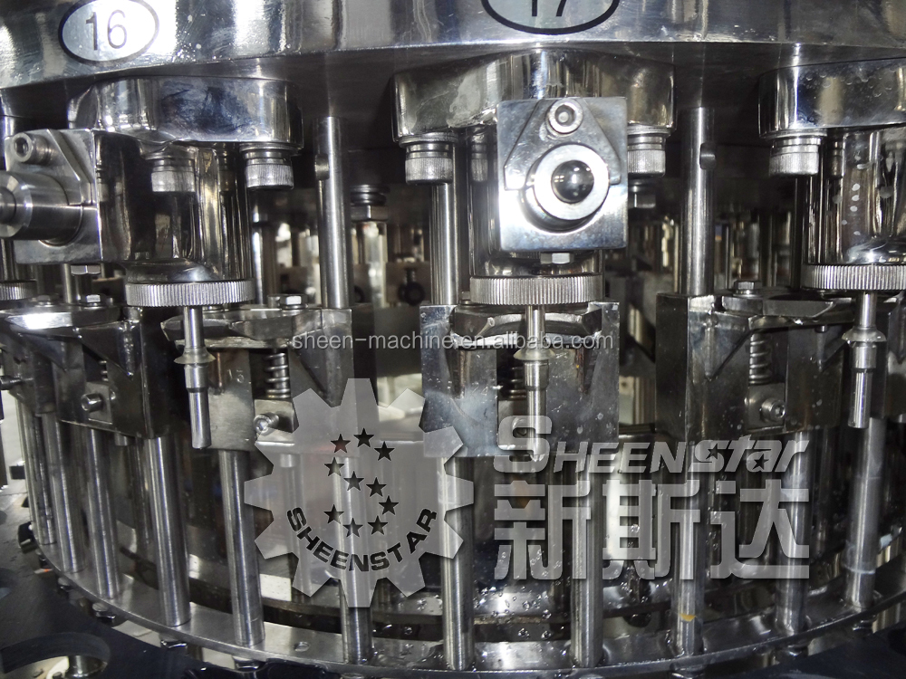 Good price quality Automatic glass bottle alcohol drink filling machine