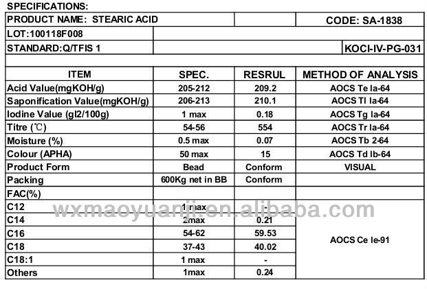 stearic acid methyl ester