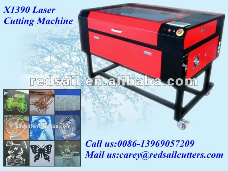 Hobby Wood Laser Cutting and Engraving Machine X1390