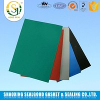 Temperature resistance rubber sheet roll