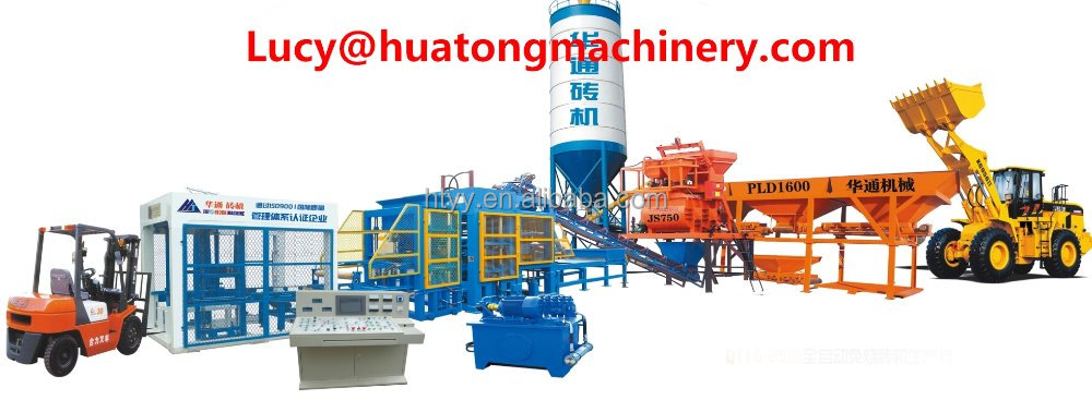 QT10-15 Fully Automatic High Production Concrete Interlocking Brick Making Machine Supplier