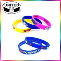 top fashion personalized silicone bracelet 2013 silicone bracelet silicon band