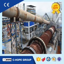 China Cement Carbon Active Rotary Lime Kiln , Roller Kiln For cement