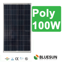 High quality certificated el mini panel solar 12v 100wp poly pv modules