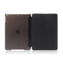 New Generation ultra thin Tri Folding PU Leather Flip Smart cover for ipad 9.7 2017 tablet case
