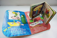 Children Hardcover Story Book / Safe Eco-friendly Material with Colorful Designs