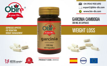 Garcinia Cambogia 300mg 60 Capsules - Food supplement