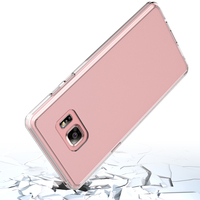 Smart Phone Case For Sam Galaxy Note 8 Clear TPU Back Cover Transparent Acrylic Cases