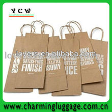 Wholesale jute wine bag