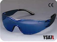 fashionable CE EN166 safety glasses in china