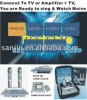 Magic Sing Along Portable Karaoke player+4PcsSD Card Slots+160GB Hard Disk (optional)+download(KOD-100/MK-100)