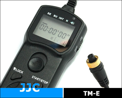 JJC TM-E Timer Remote Control for OLYMPUS RM-CB1 for OLYMPUS E1 E3 E5 E10 E20