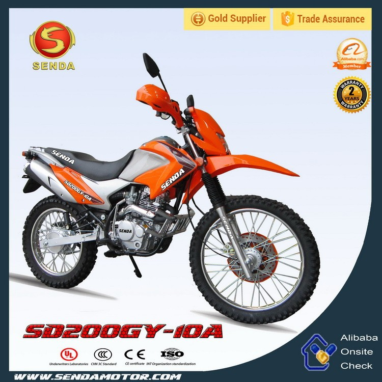 Electric Mini Dirt Bike for Children with CE certificate(China) Hyperbiz SD200GY-10A