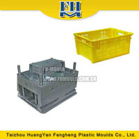stackable plastic fruit crate mould