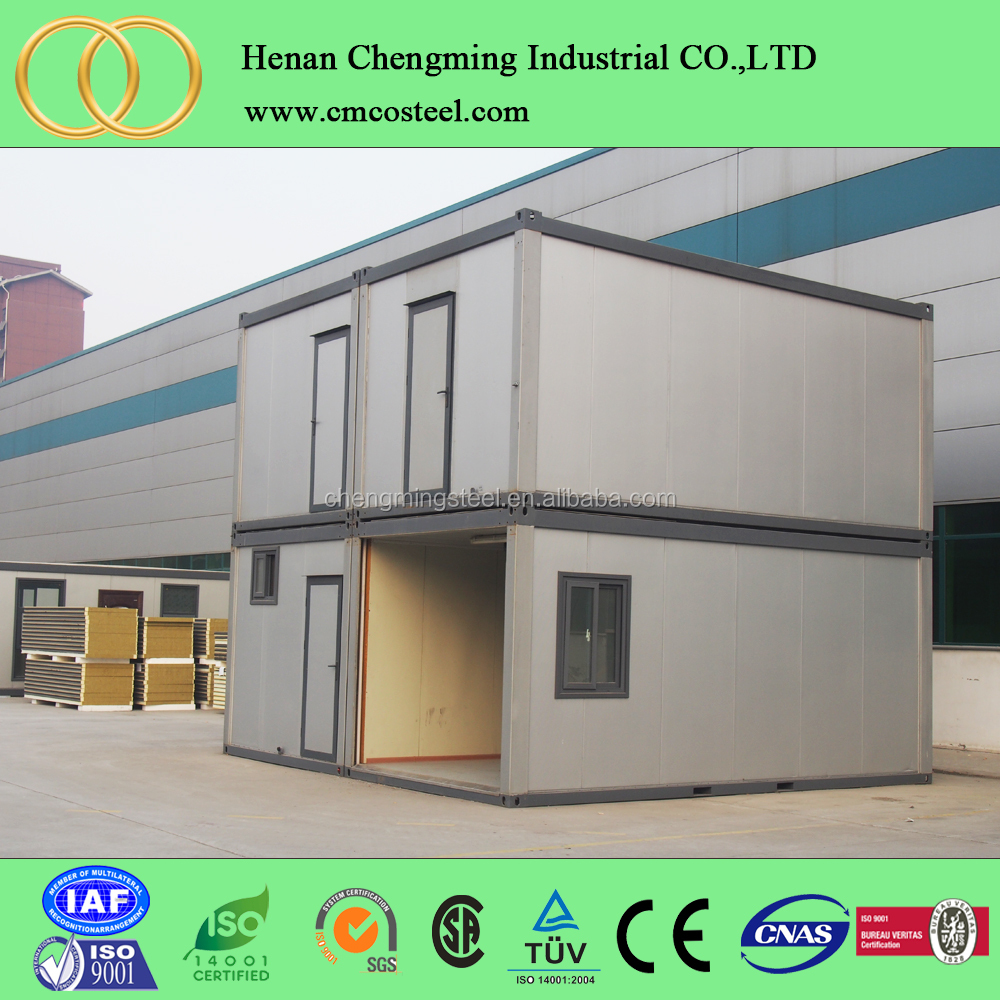 manufacture steel frame 20ft living container house container module house