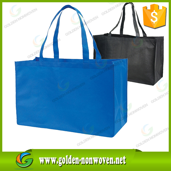 Manufacturer price nonwoven shoulder shopping bag/custom logo printing nonwoven bag/reusable recycled pp non woven bag