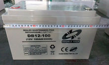1# lead, actual capacity, factory quality control gel battery 12v 100a