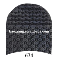 2016 New Type Antiskid Rubber Heels 674 For Shoes Repair