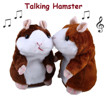 talking hamster mimicry pet toy hamster/wholesale repeat talking hamster/ Stuffed Plush Animal for kids