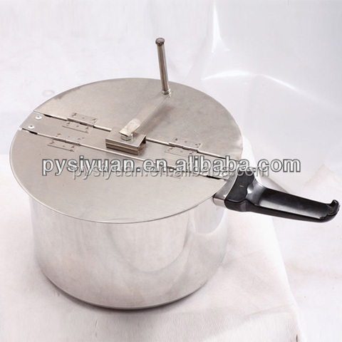 gas Hand operate popcorn making macine made in china for use