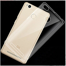 C&T Clear Soft Gel TPU Phone Case Cover for Xiaomi Redmi 3S Prime