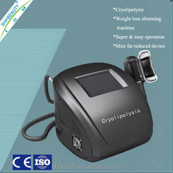 Color touch screen easy to perform cryolopolysis body slimming beauty equipment