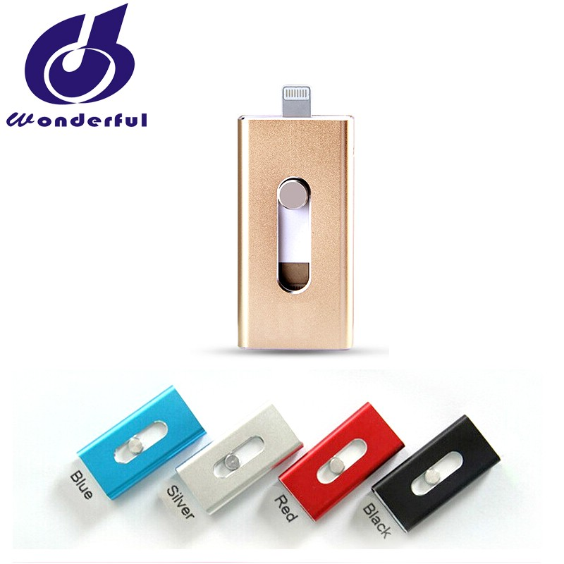 shenzhen factory OTG 16GB USB Flash drive for iphone 7