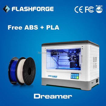 2014 New Design totally closed flashforge 3d printer dual extruder - Dreamer