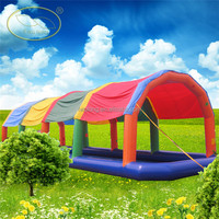Special large inflatable pool with tent cover for sale