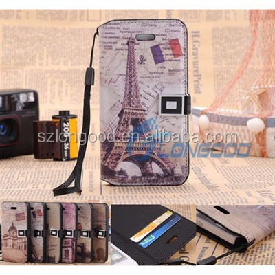 Removable Cell Phone Case PU Leather Mobile Phone Case Wallet for iphone5
