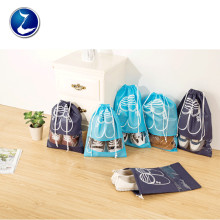 Promotional Custom Drawstring Foldable Shoe Bag