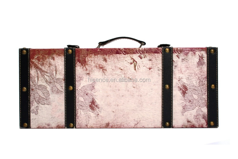 Exquisite Middle suitcase wall decoration case and home decoration case